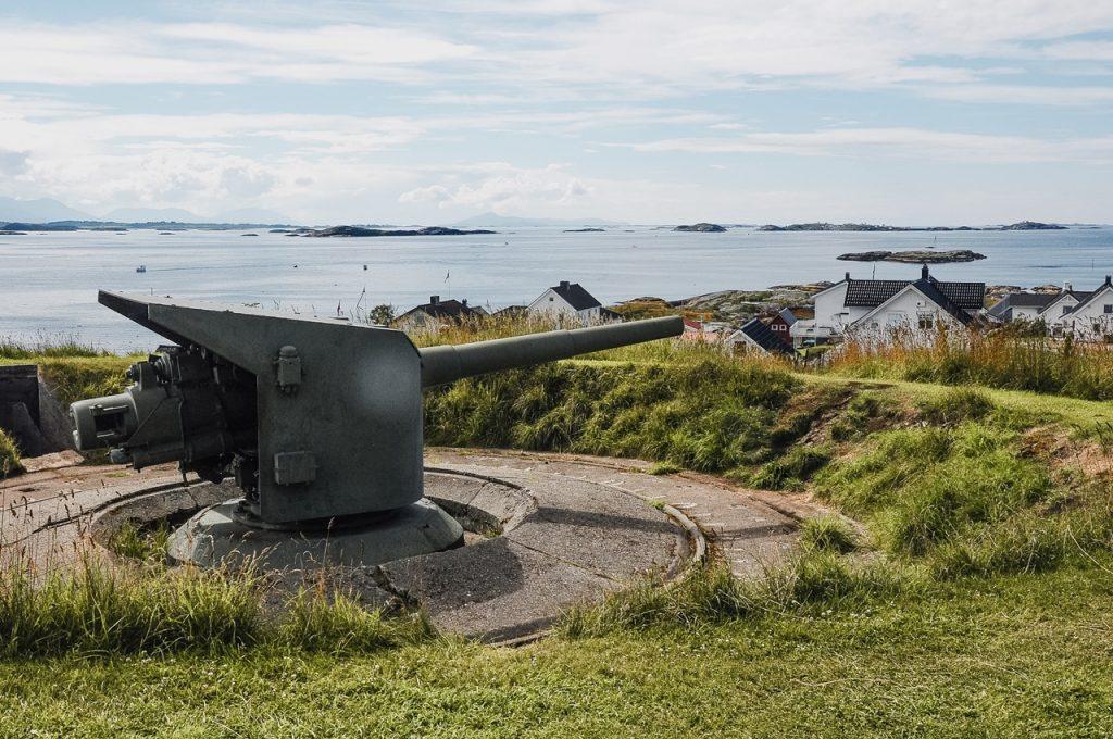 Norwegia - fort Ergan - ciekawostki historyczne