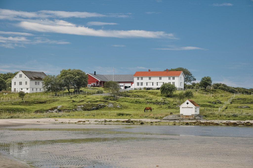 Norwegia plaże