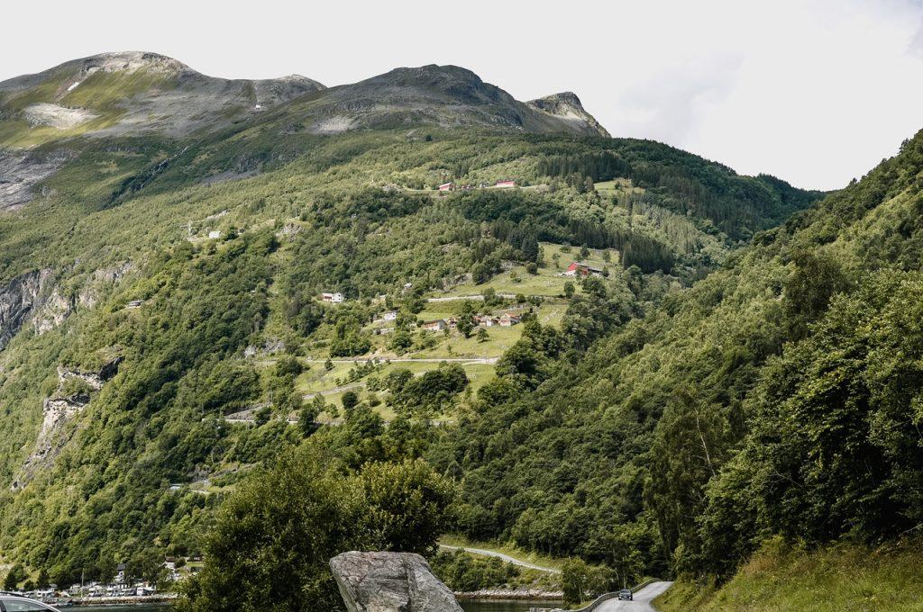 Droga Orłów w Norwegii, Ørnevegen