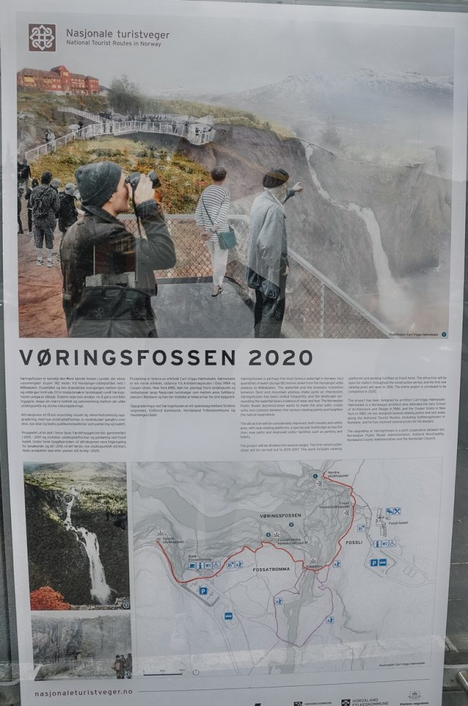 norweski wodospad