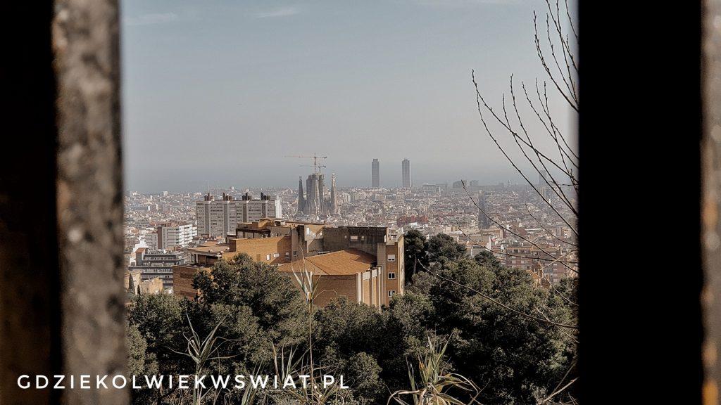 Punkt widokowy na Barcelonę