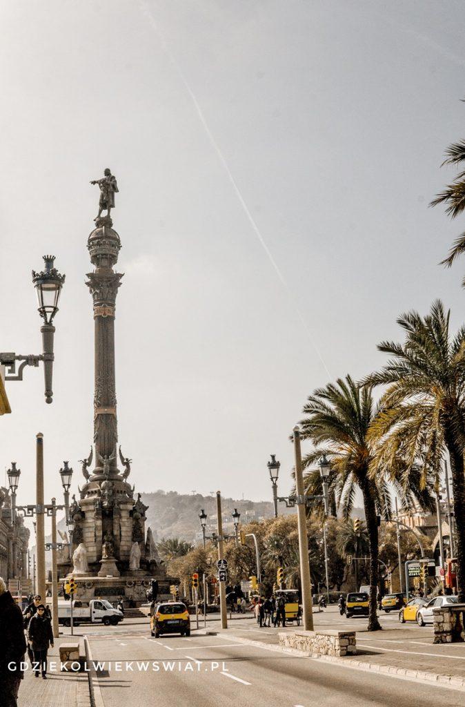 Pomnik Kolumba - wieża widokowa