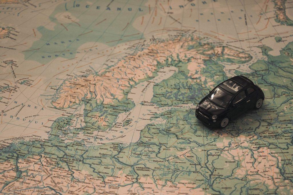 podróże samochodowe po polsce