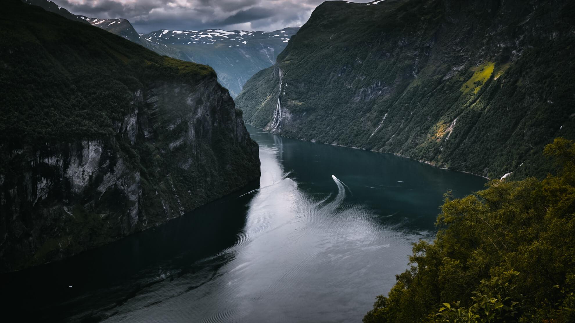 krajobraz przyroda Norwegia 1920x1080