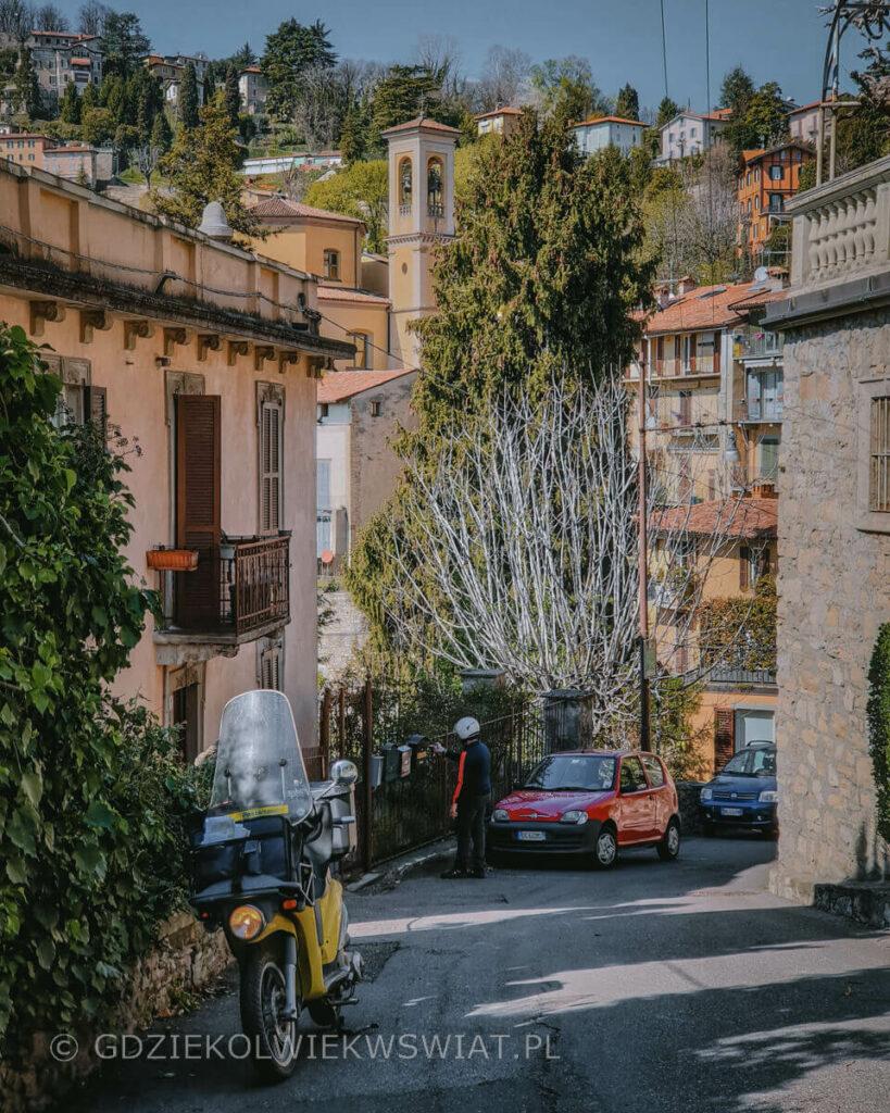 Bergamo Citta Alta zwiedzanie