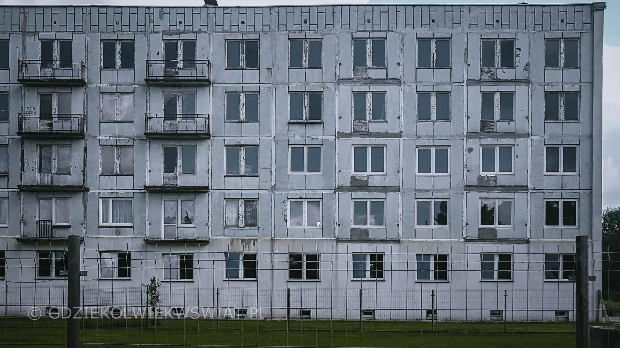 Borne Sulinowo zwiedzanie opuszczone miasto Kłomino