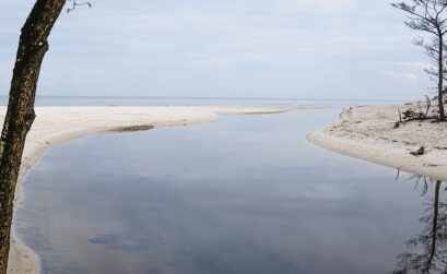 polskie morze poza sezonem