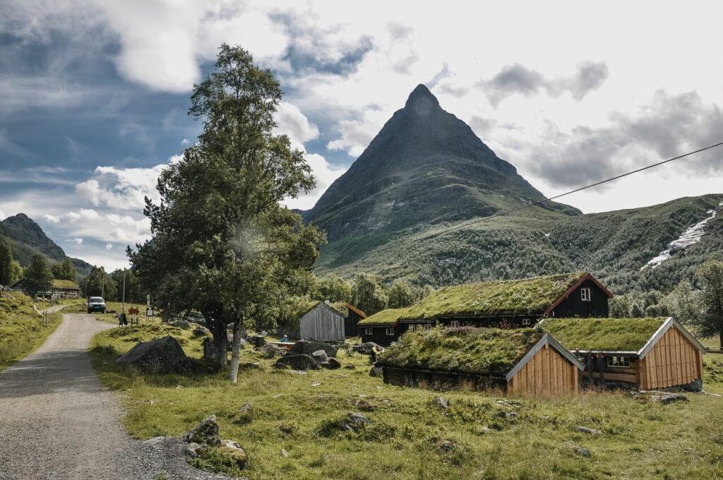 Dolina Innerdalen Norwegia