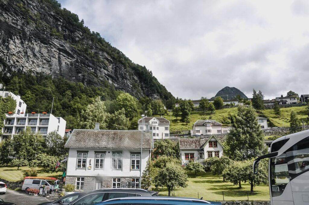 Fiord Geiranger Norwegia