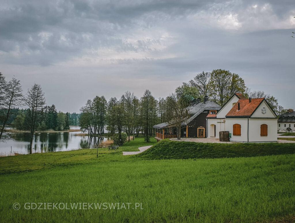 Folwark Hutta pensjonat na Suwalszczyźnie