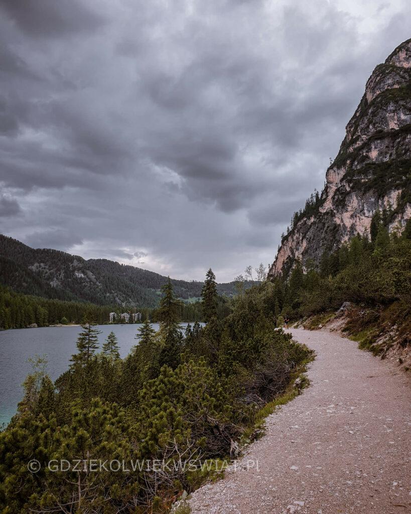 Lago di Braies szlaki
