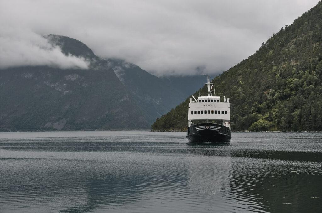 Norwegia rejs przez fiordy