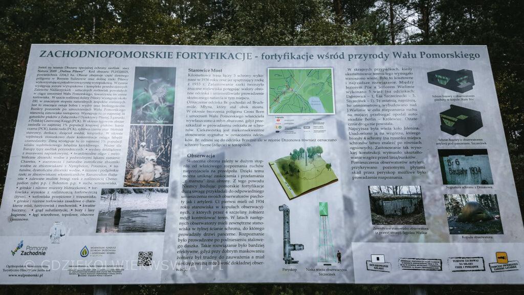 ciekawe miejsca w okolicy Wałcza - Wał Pomorski