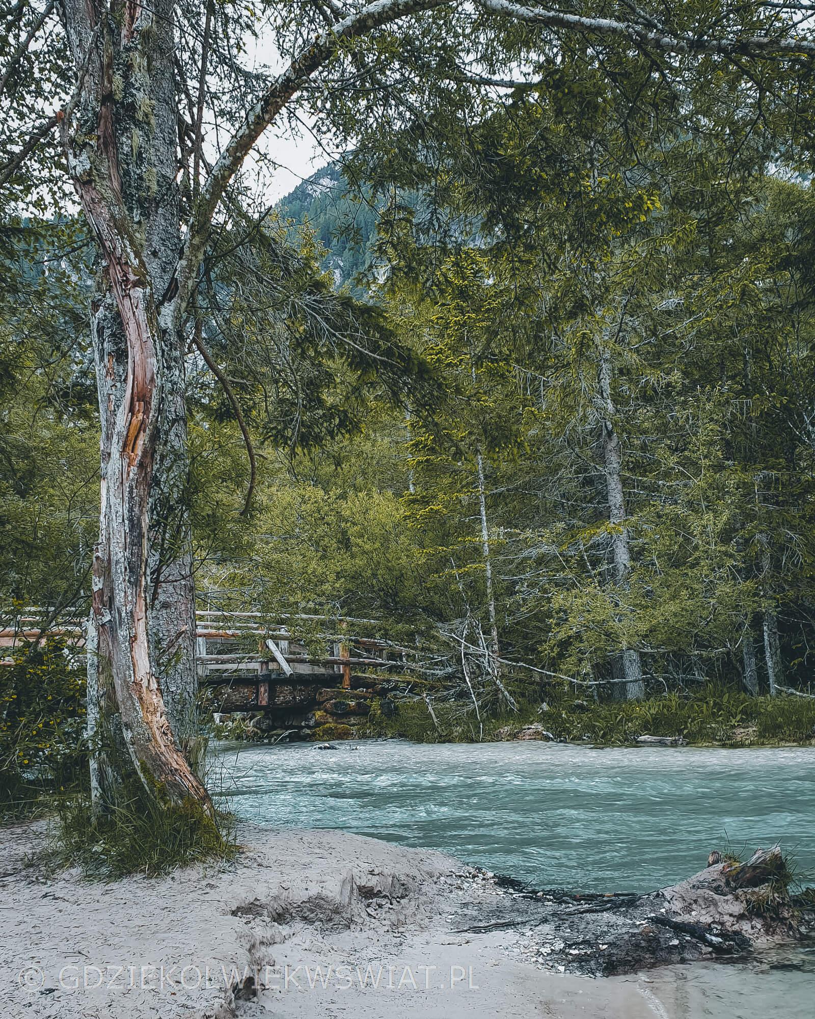 Południowy Tyrol łatwe najpiękniejsze szlaki