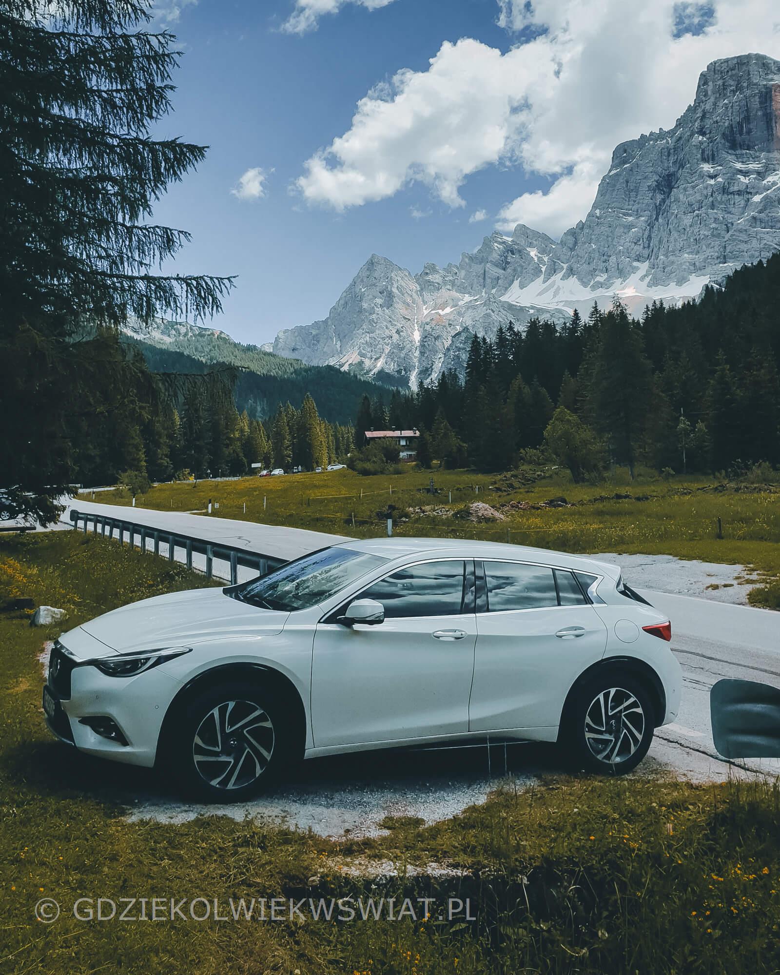 Południowy Tyrol wycieczka samochodem