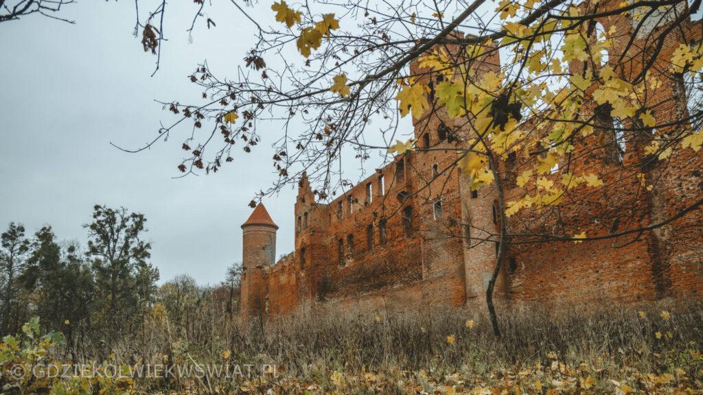 Szymbark ruiny zamku