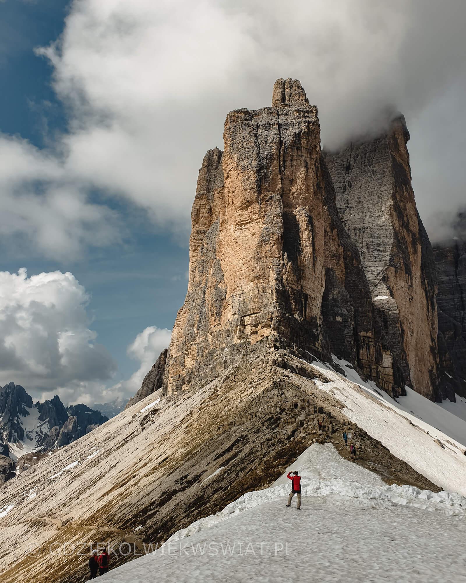 Tre Cime di Lavaredo Dolomity góry