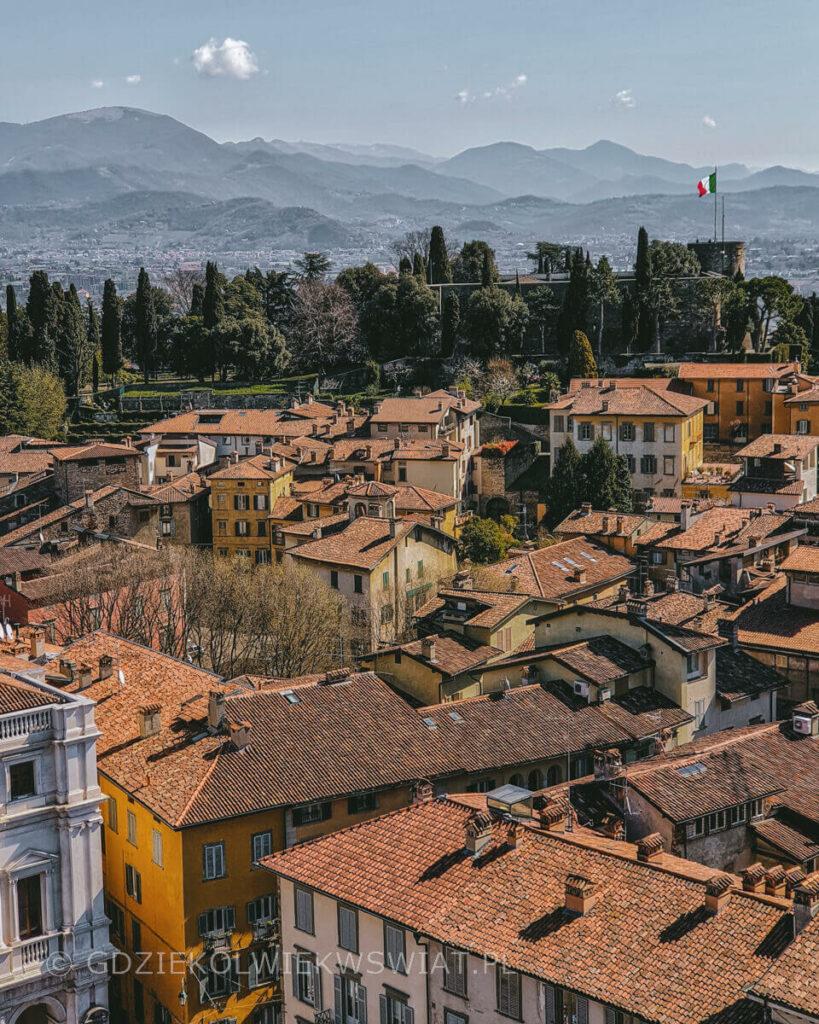 Włochy miasta turystyczne Bergamo