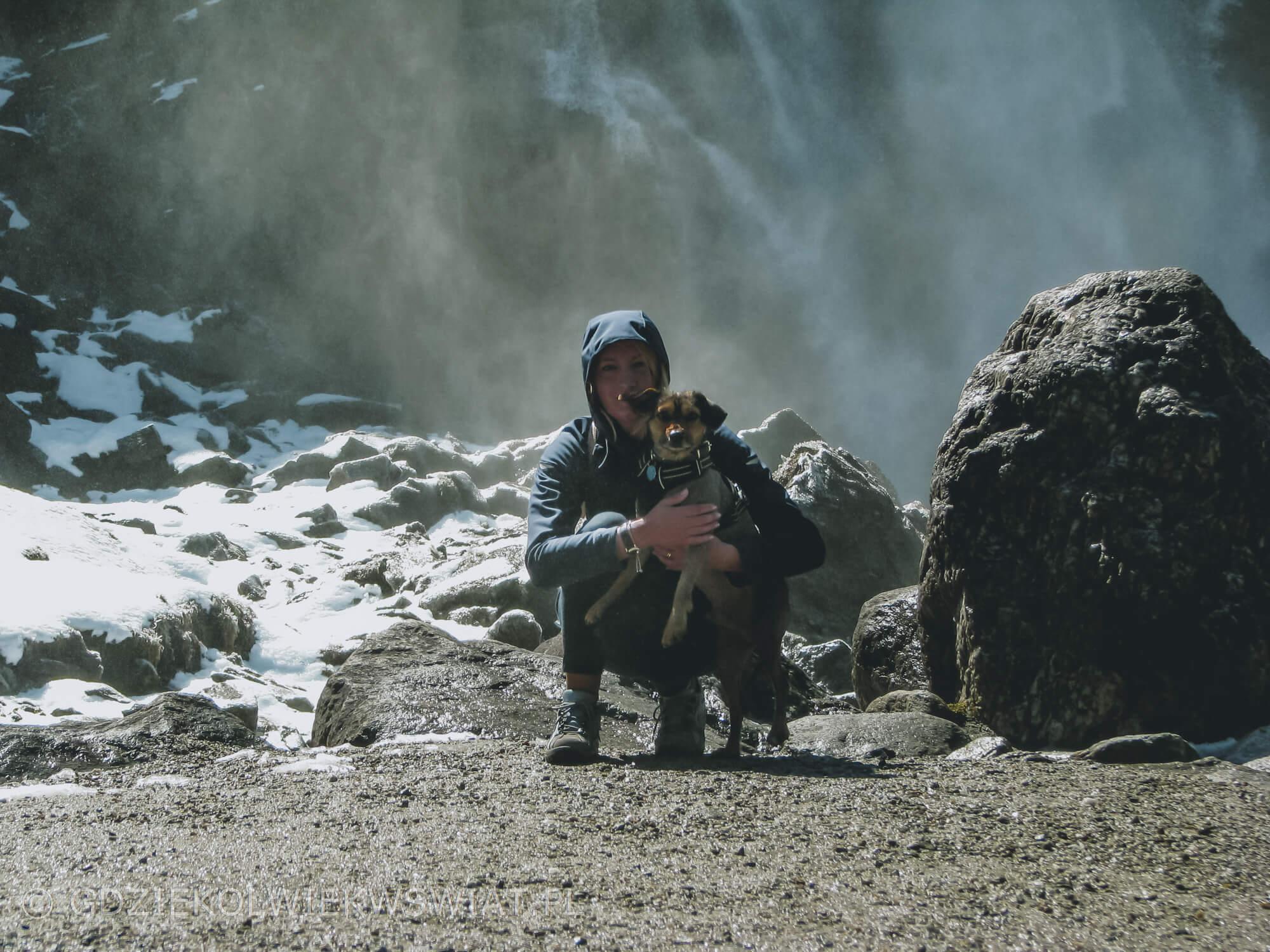 Wodospady Krimml Alpy Austriackie