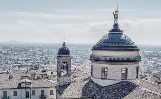 Bergamo Włochy plan zwiedzania atrakcje zabytki