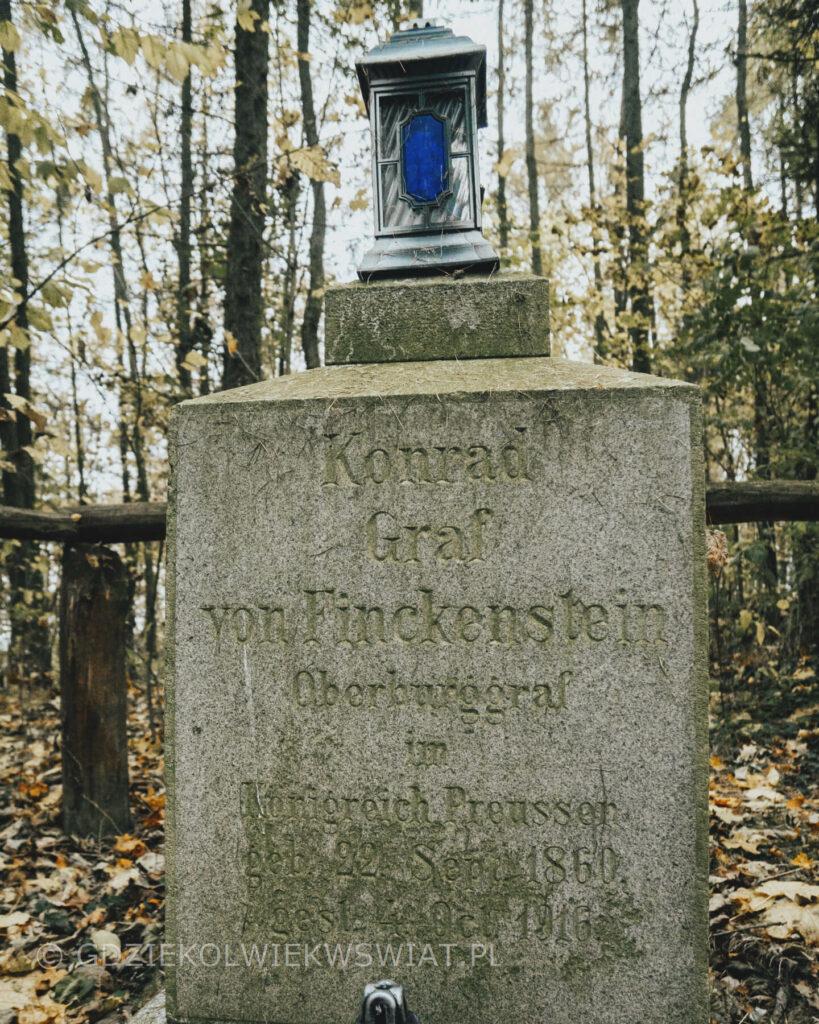 cmentarz rodowy von Finckenstein