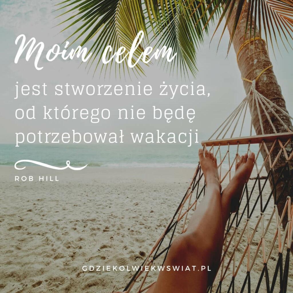 cytaty wakacje