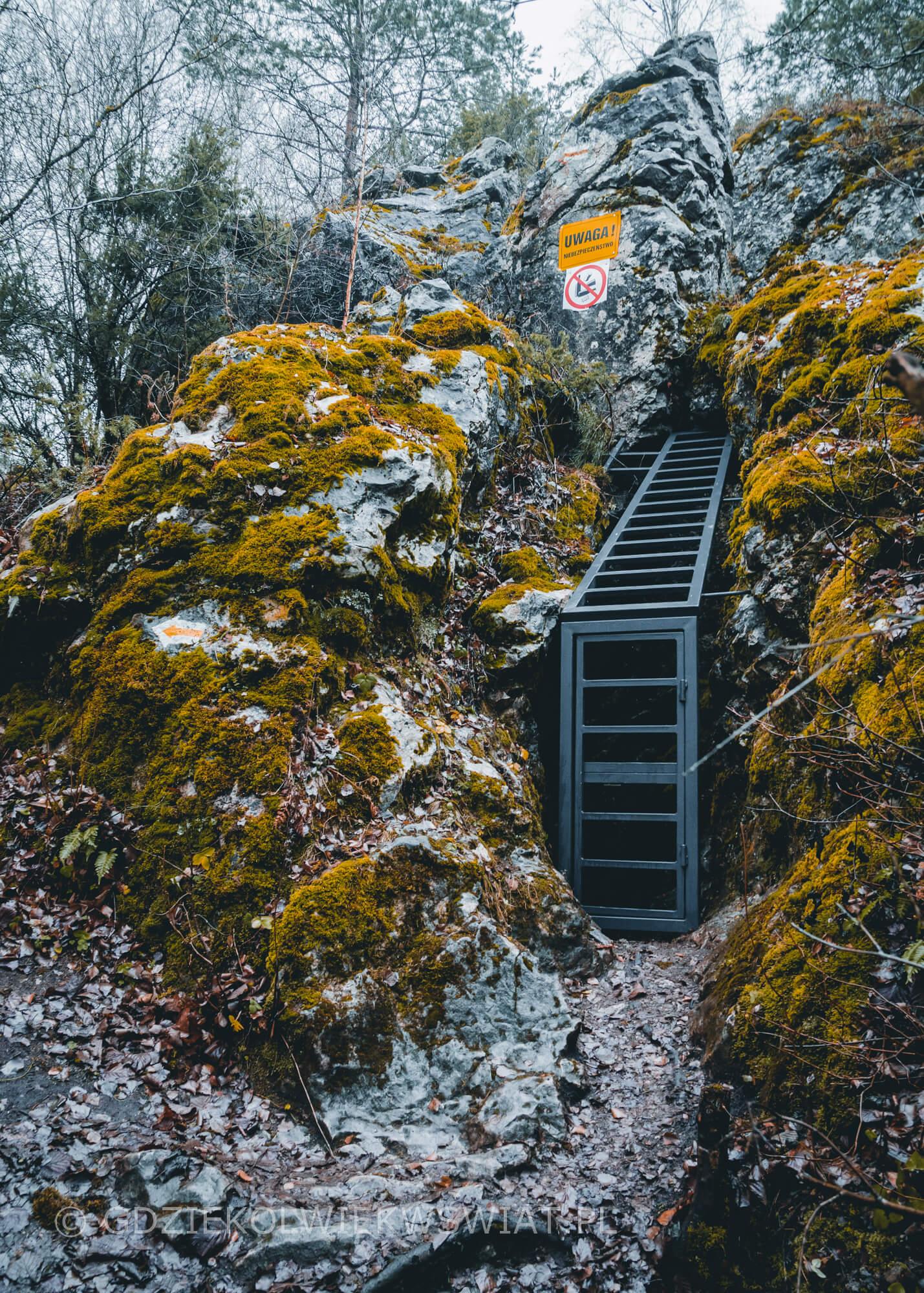 Góra Miedzianka jaskinia