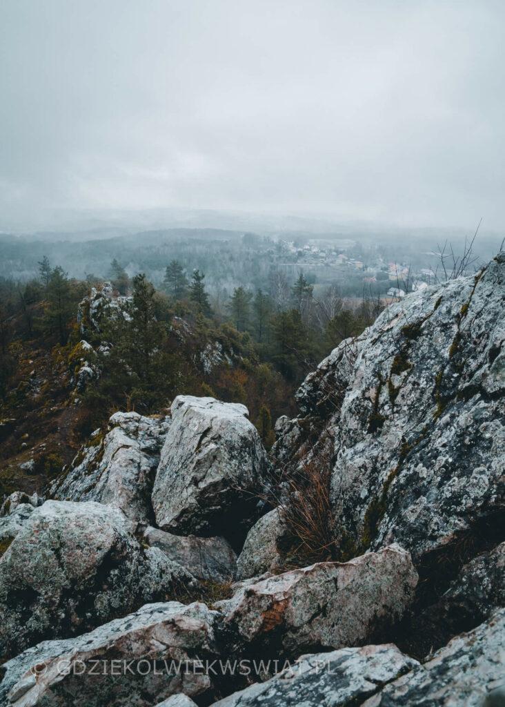 Góra Miedzianka sztolnie