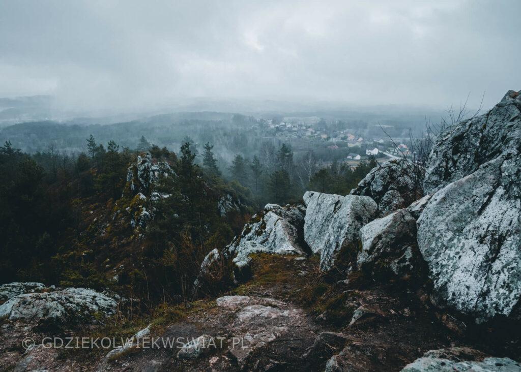 Góra Miedzianka trasa