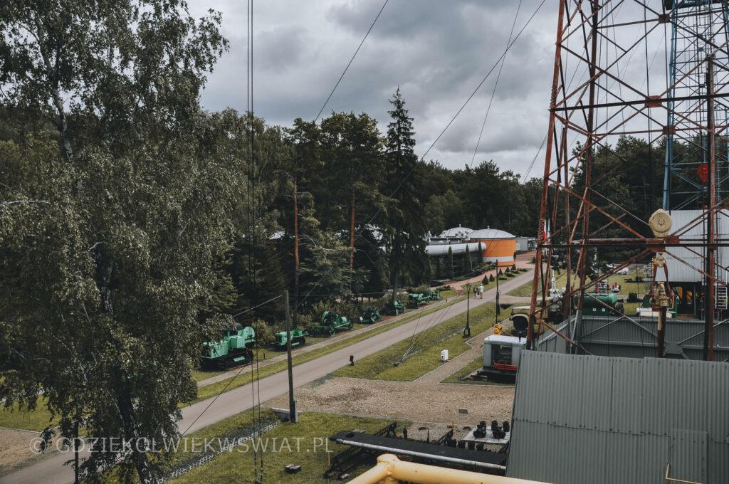 kopalnia ropy naftowej w Bóbrce - muzeum