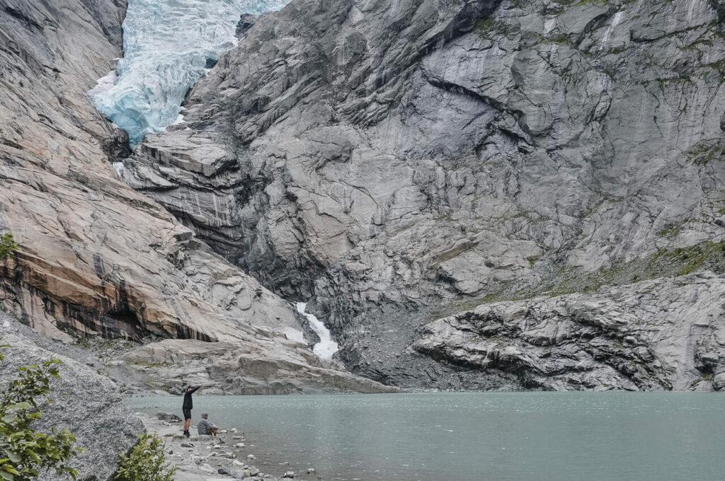 lodowiec Briksdal - najpiękniejsze miejsca Norwegii