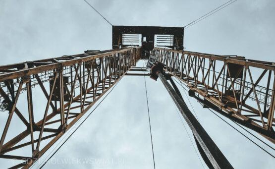 nieodkryte miejsca w Polsce - kopalnia ropy naftowej w Bóbrce