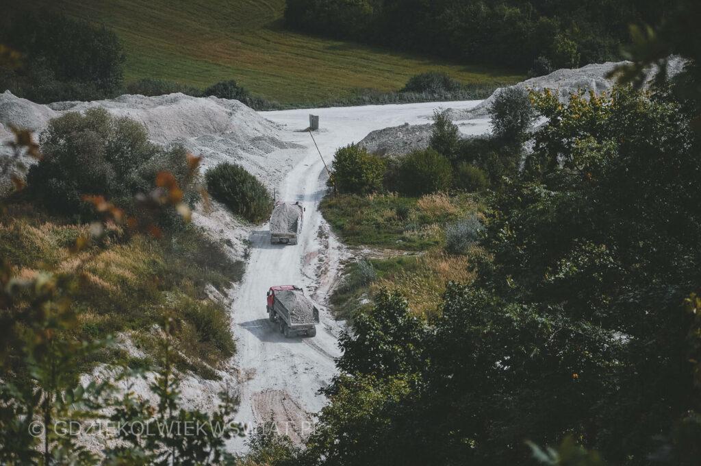 nieznane miejsca w Polsce - kopalnia kredy w Mielniku