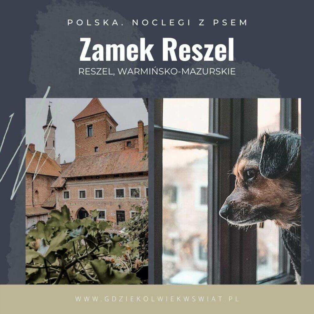 nocleg z psem Mazury Warmia Reszel