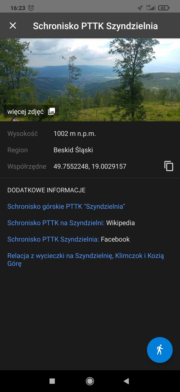polska mapa turystyczna