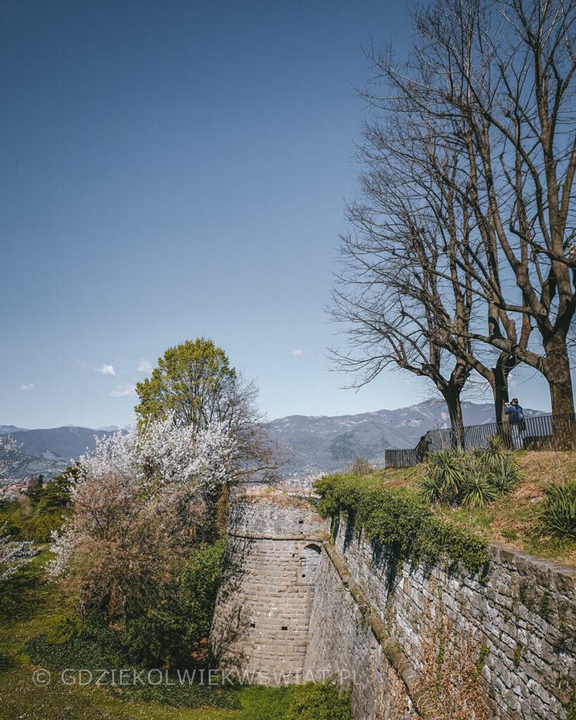 punkt widokowy w Bergamo