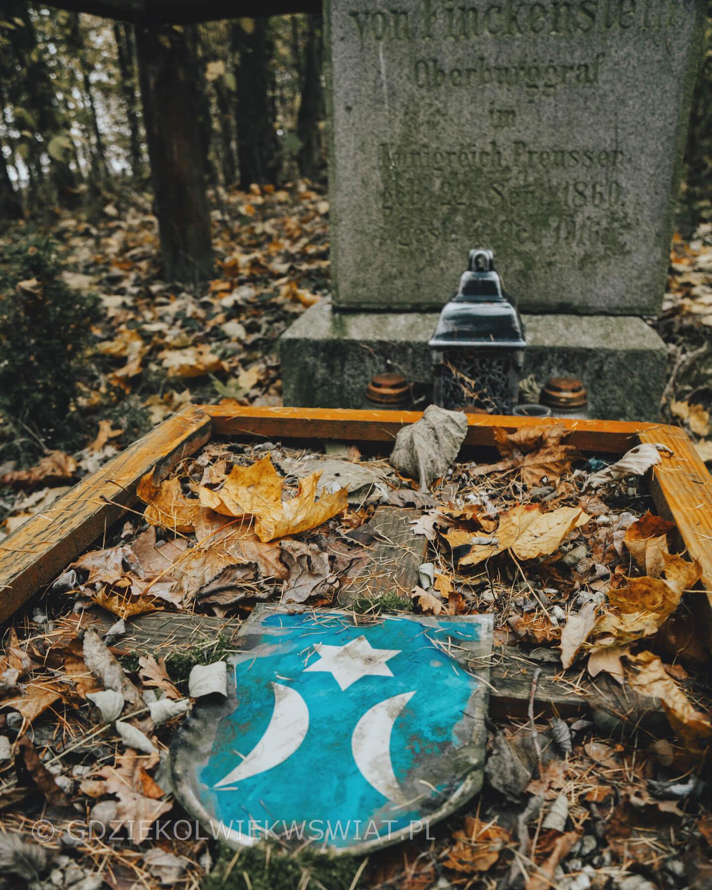 ród von Finckenstein cmentarz