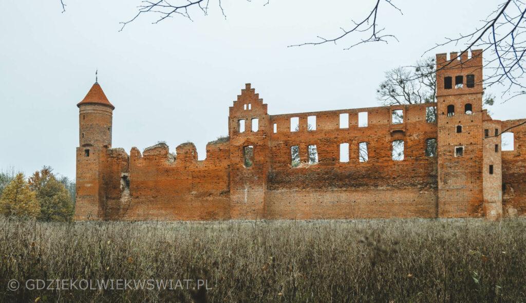 ruiny zamku kapituły pomezańskiej w Szymbarku