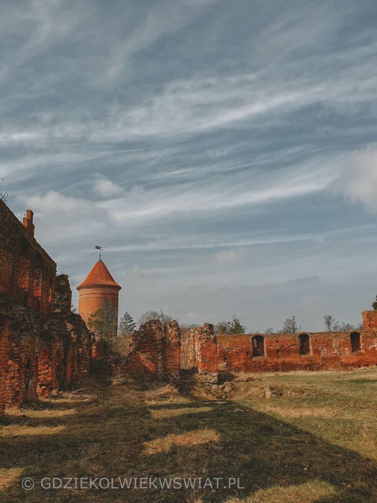 Szymbark zamek mapa