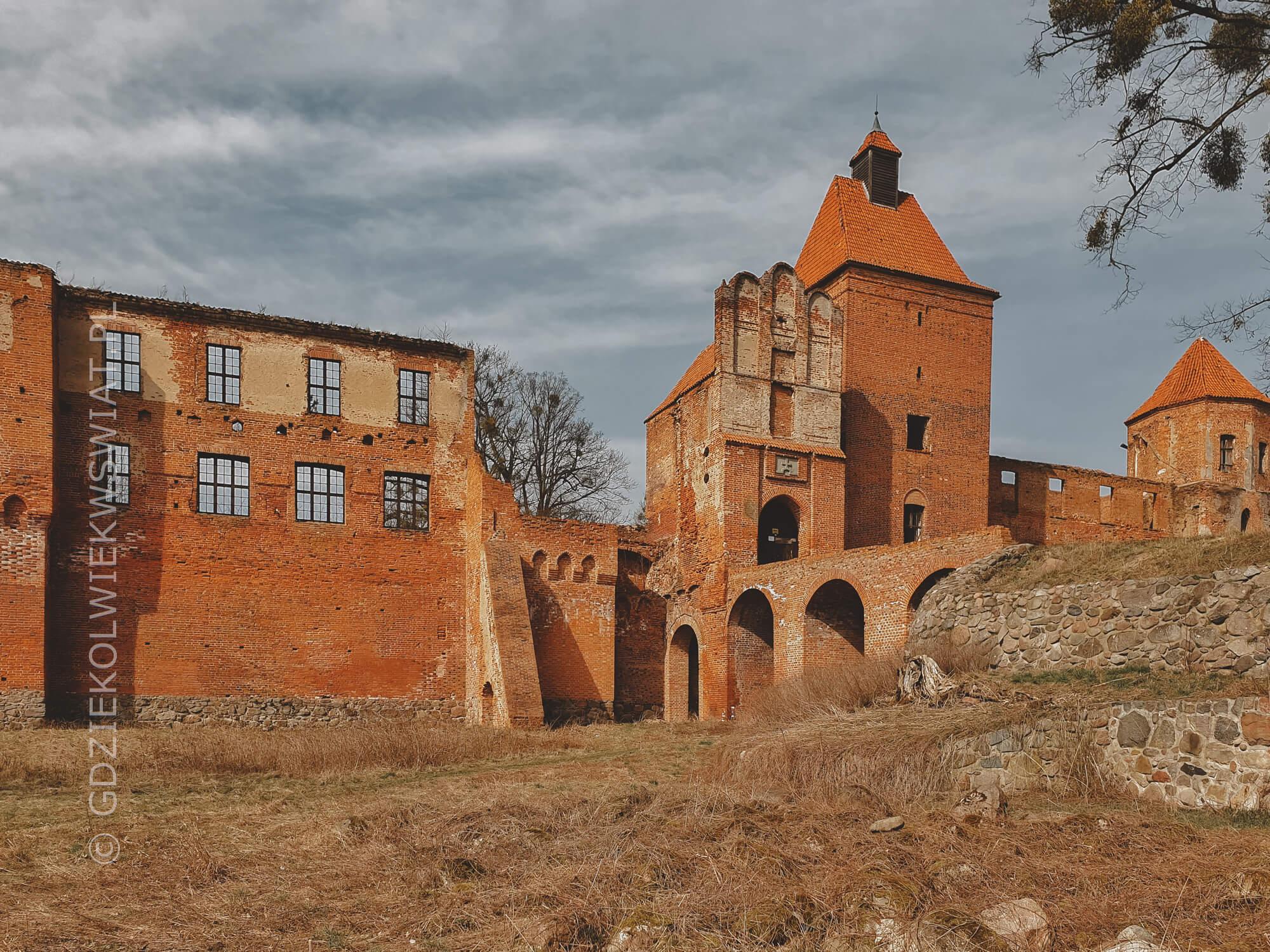 Szymbark zamek