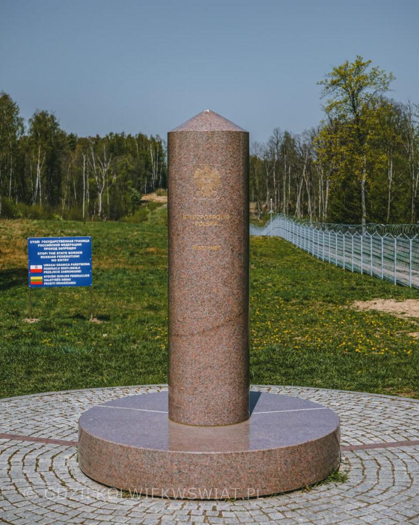 trójstyk granic Polska Litwa Rosja