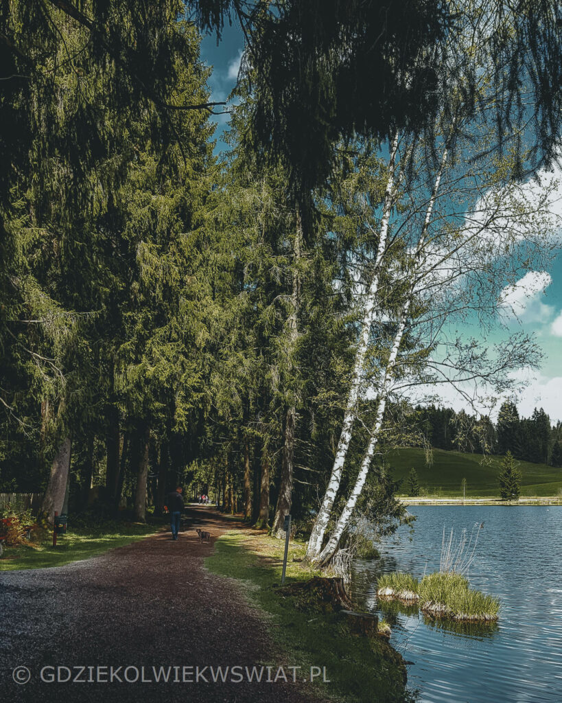 wakacje w Austrii jezioro Schwarzsee