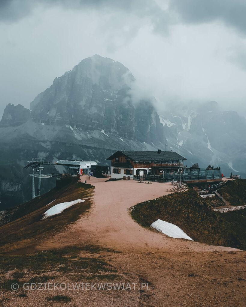 włoskie góry Alpy dojazd