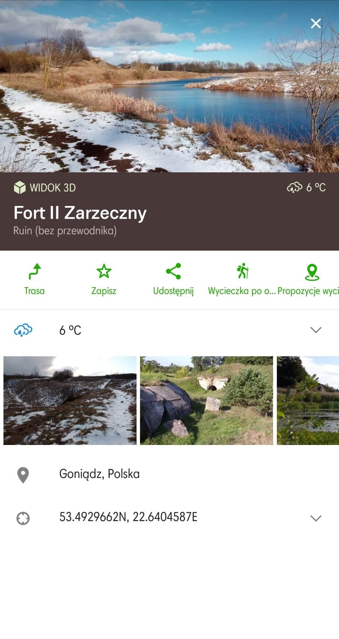 wyznaczanie trasy pieszej i rowerowej aplikacja mapy